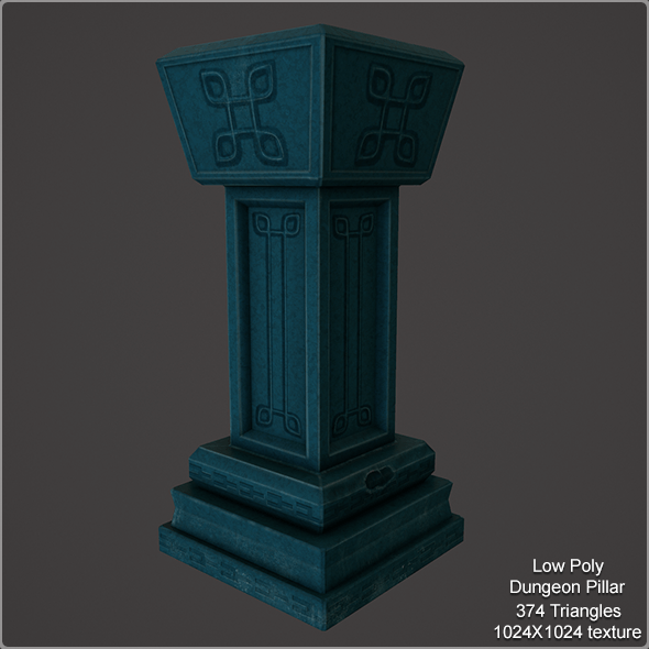 Low Poly Pillar