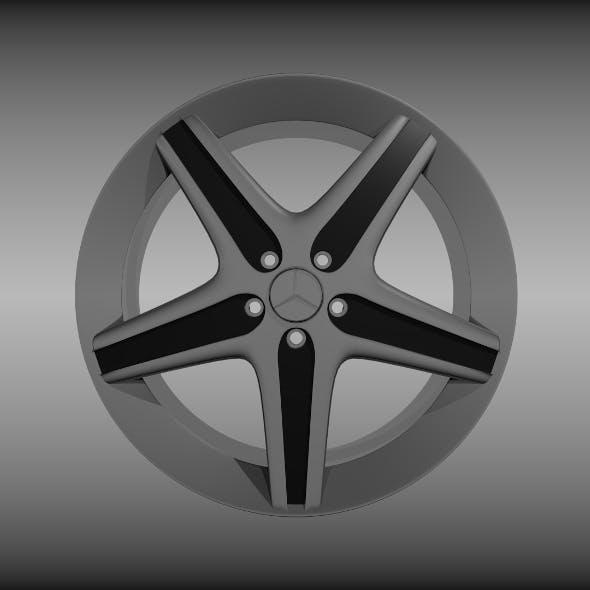 Mercedes rim - 3DOcean Item for Sale