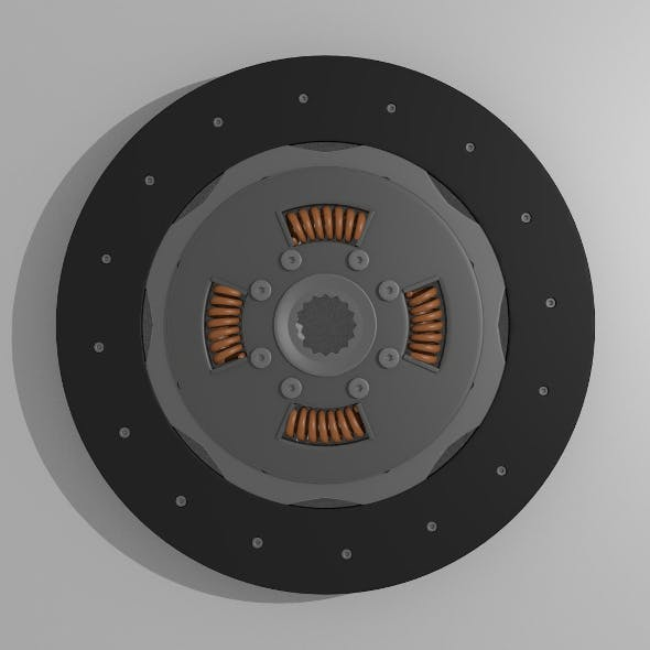 Clutch disk - 3DOcean Item for Sale