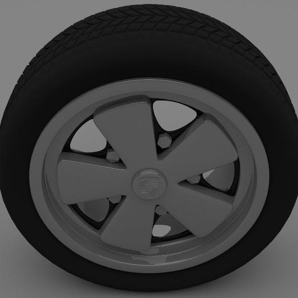 Porsche Wheel - 3DOcean Item for Sale