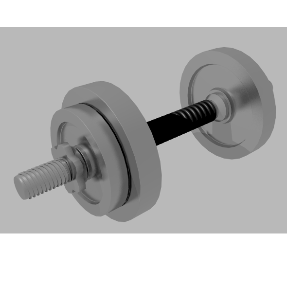Dumbbell - 3DOcean Item for Sale