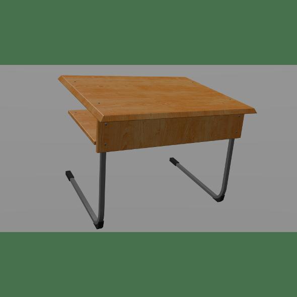 School desk - 3DOcean Item for Sale