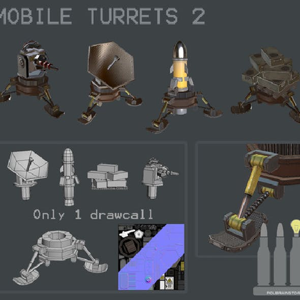 MOBILE TURRET PACK 2
