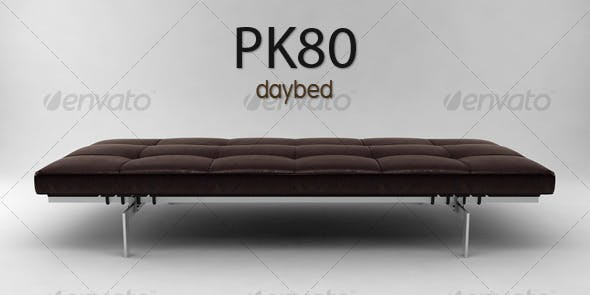 PK80 daybed - 3DOcean Item for Sale