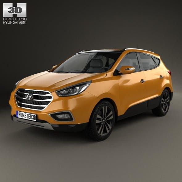 Hyundai Tucson (ix35) Korea 2013 - 3DOcean Item for Sale