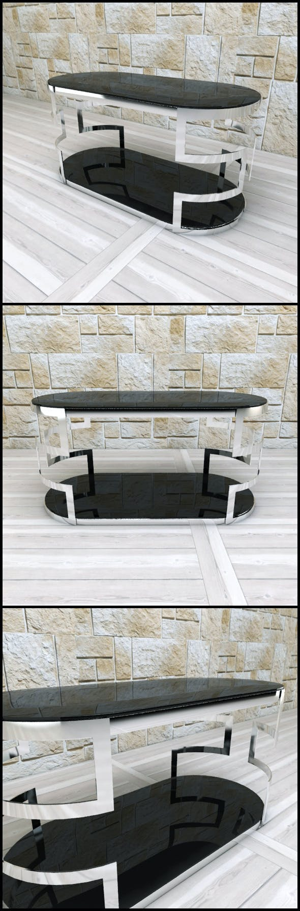 Andrew Martin: Visconti Coffee Table - 3DOcean Item for Sale