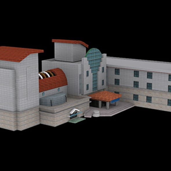 Lowpoly_Building_001