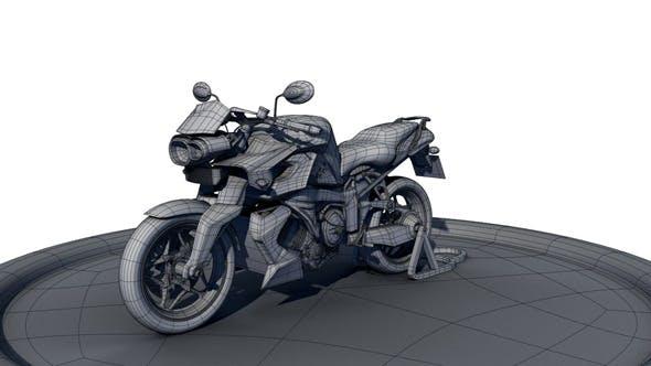 BMW_K1300R - 3DOcean Item for Sale