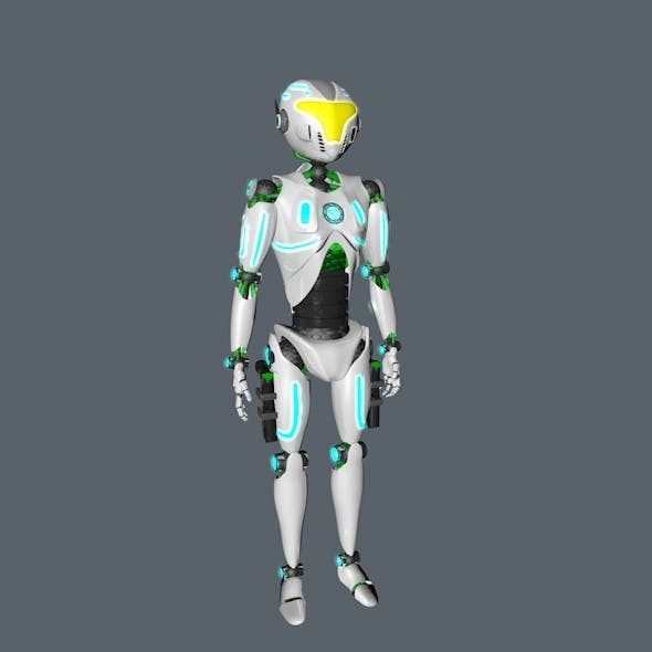 ROBOT 3D SOB5 - 3DOcean Item for Sale