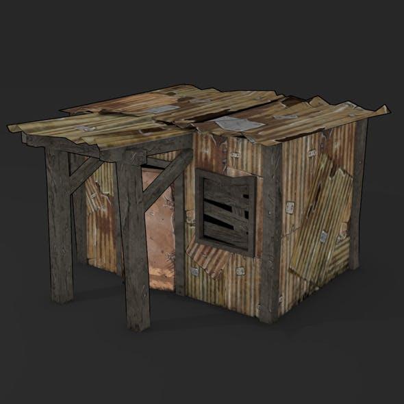 POSTAPO HUT - 3DOcean Item for Sale