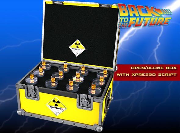 BTTF Plutonium Box - 3DOcean Item for Sale