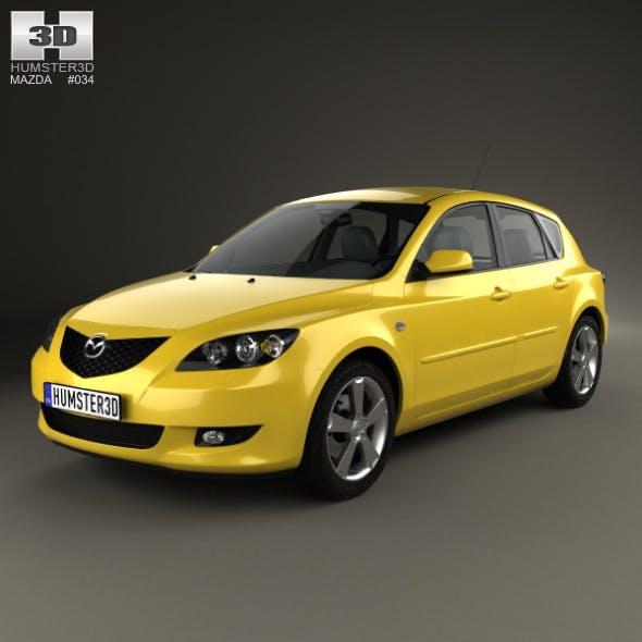 Mazda 3 hatchback 2003 - 3DOcean Item for Sale