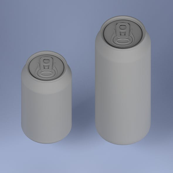 Can 500ml and 330 ml