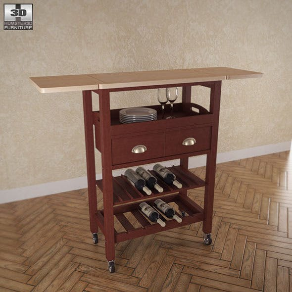 Julia Kitchen Cart - Powell Furniture