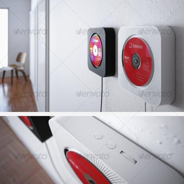 Muji CD player - 3DOcean Item for Sale