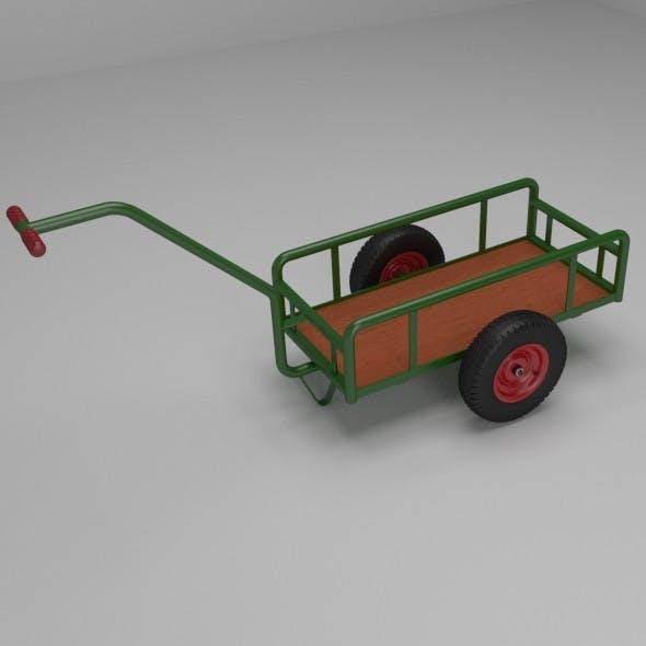 Handcart - 3DOcean Item for Sale