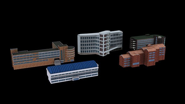 Building Package_A03 - 3DOcean Item for Sale