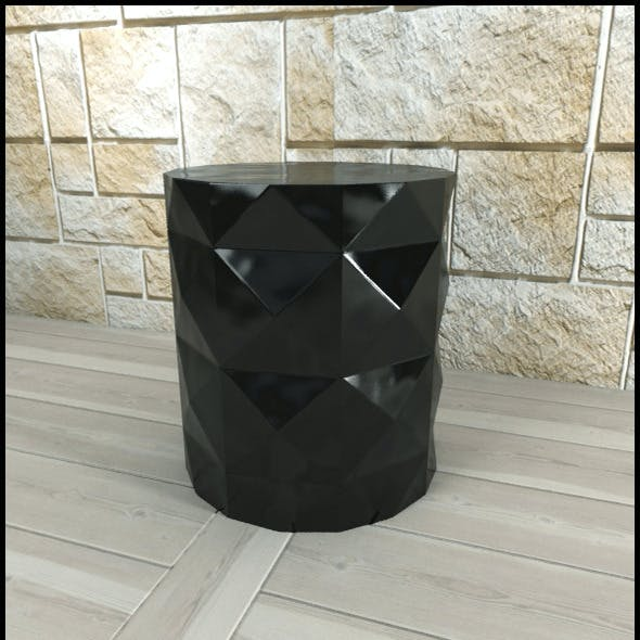 Andrew Martin: Dipoli Side Table (Black)