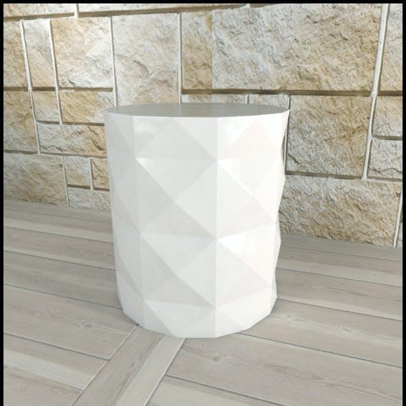 Andrew Martin: Dipoli Side Table (White)