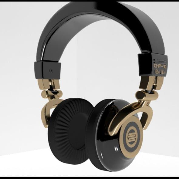 Reloop Gold Headphone - 3DOcean Item for Sale