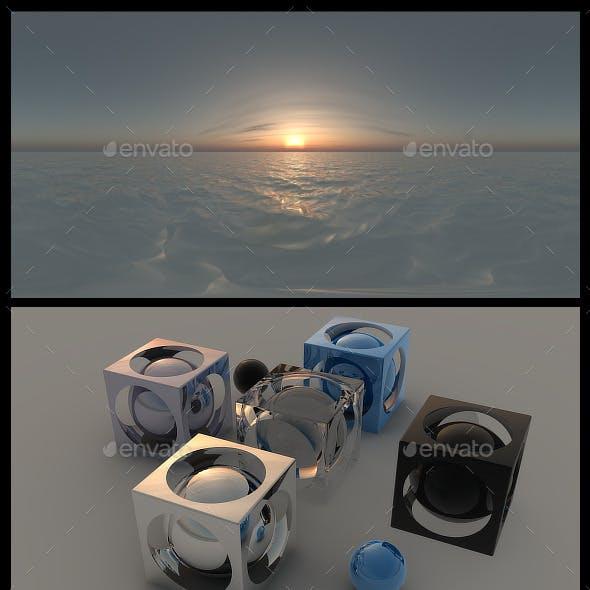 Ocean Dawn HDRI