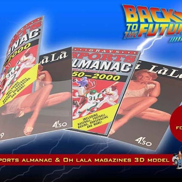Grays Sports Almanac & Oh Lala Magazines