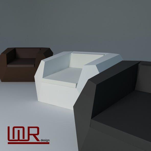 Vondom Faz Armchair - 3DOcean Item for Sale