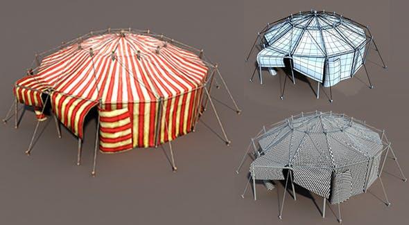 Circus Tent - 3DOcean Item for Sale