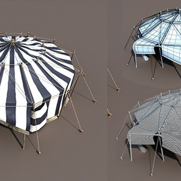 Circus Tent Black&White