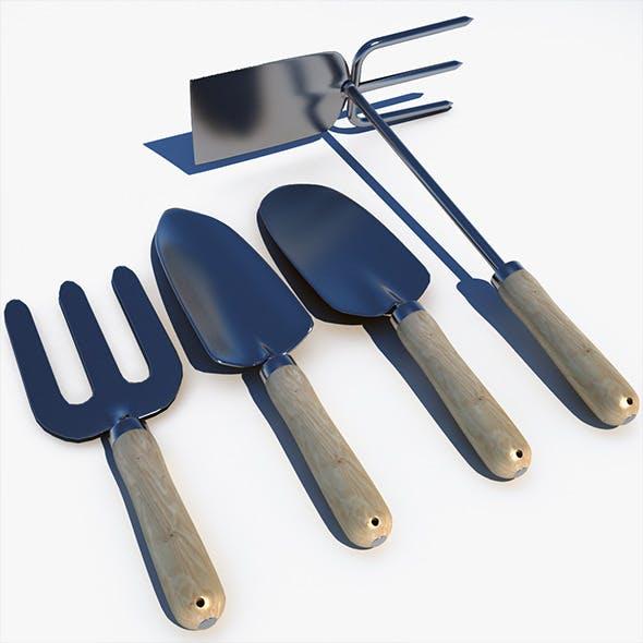 Garden Tools - 3DOcean Item for Sale