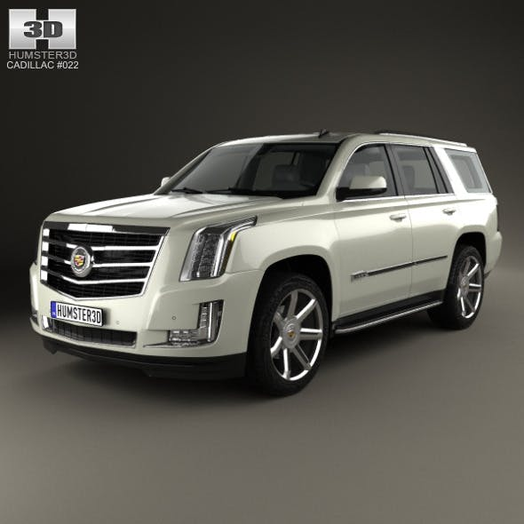 Cadillac Escalade 2015 - 3DOcean Item for Sale