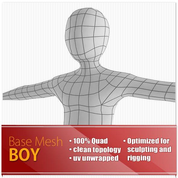 Boy Base Mesh