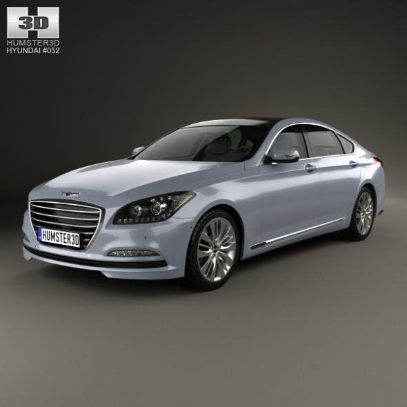 Hyundai Genesis (Rohens) 2015 - 3DOcean Item for Sale