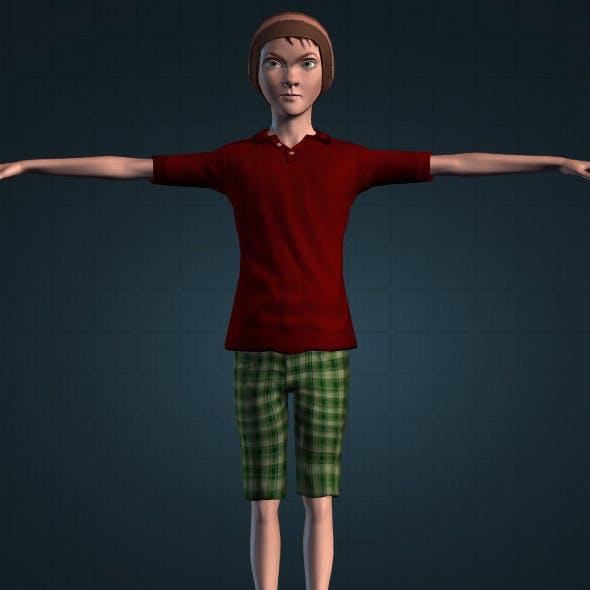 Realistic Andhika Sintink - 3DOcean Item for Sale