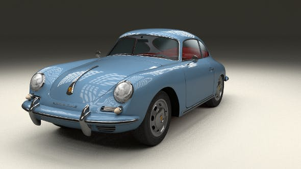 Porsche 356 - 3DOcean Item for Sale