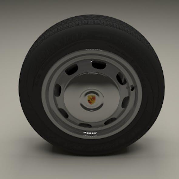 Porsche 356 Wheel