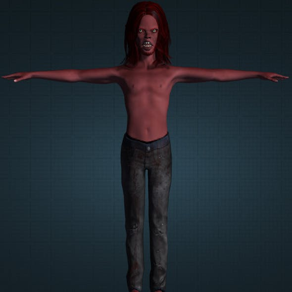 Realistic Buto Cakil - 3DOcean Item for Sale