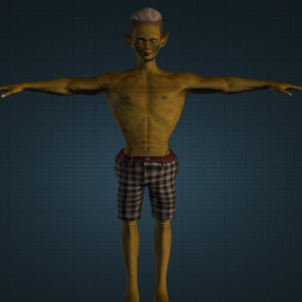 Realistic Buto Kendil - 3DOcean Item for Sale