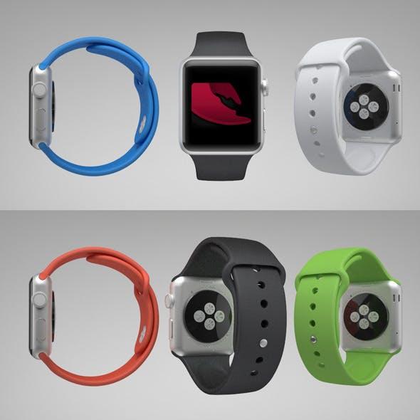 Apple Watch Sport - 3DOcean Item for Sale