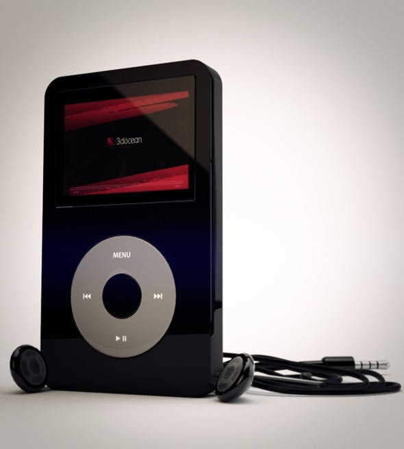 iPod Classic - 3DOcean Item for Sale