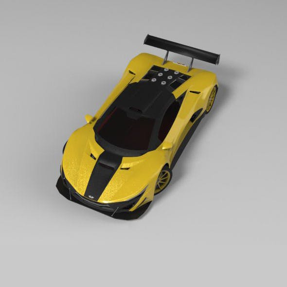 Concept Car 2013 SPECTER GT3 - 3DOcean Item for Sale