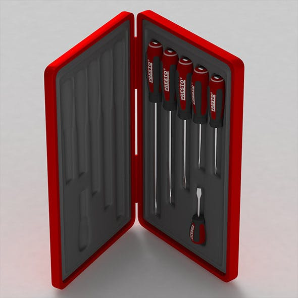 Screwdriver Box - 3DOcean Item for Sale