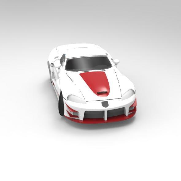 Concept Car Tuned Dodge Viper SRT10
