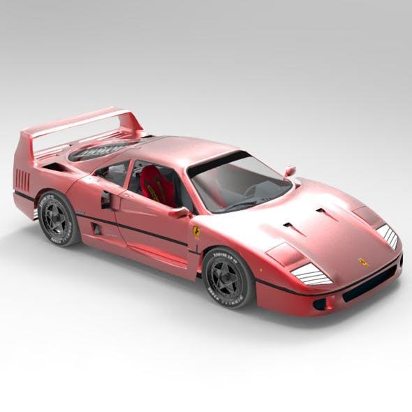 Concept Car Ferrari F40