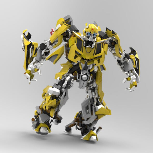 Autobot Bumblebee - 3DOcean Item for Sale