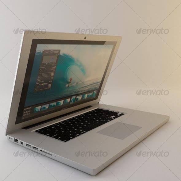 Appl Macbook Pro - 3DOcean Item for Sale