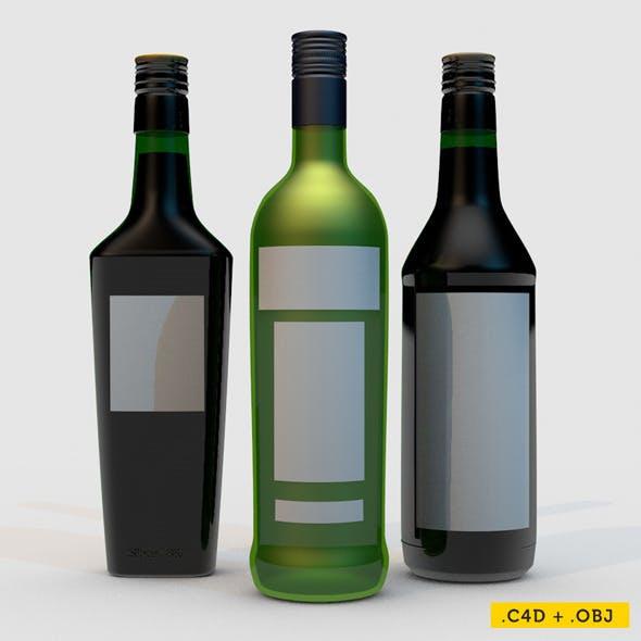 Bottle Pack Scene - 3DOcean Item for Sale