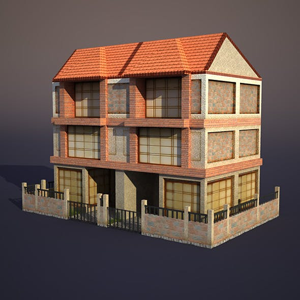 Apartment house #9 - 3DOcean Item for Sale