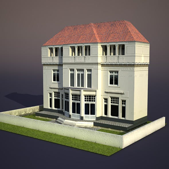 Apartment House #26 - 3DOcean Item for Sale