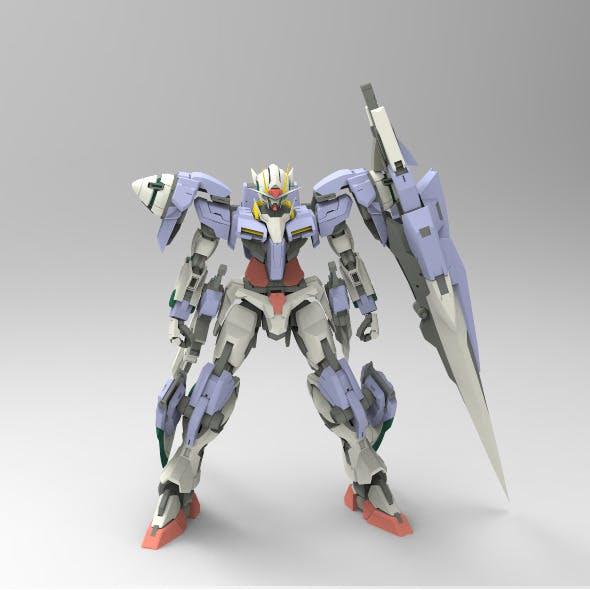 Gundam 00 7 Swords - 3DOcean Item for Sale